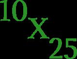 10x25 design
