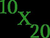 10x20 design